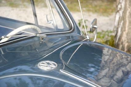 58er Faltdach firnblau-metallic
