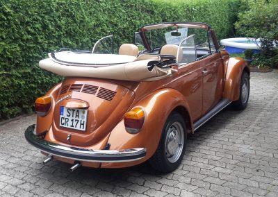 Käfer Cabriolet 1303 brazilbraun-metallic
