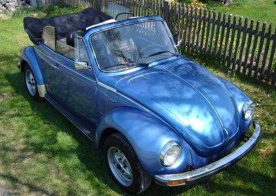 Käfer Cabriolet 1303 LS anconablau-metallic