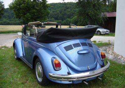 Käfer Cabriolet 1302 LS anconablau-metallic