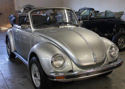 Käfer Cabriolet 1303 LS diamantsilber-metallic