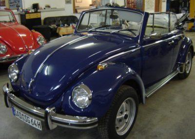 Käfer Cabriolet 1302 LS saphirblau