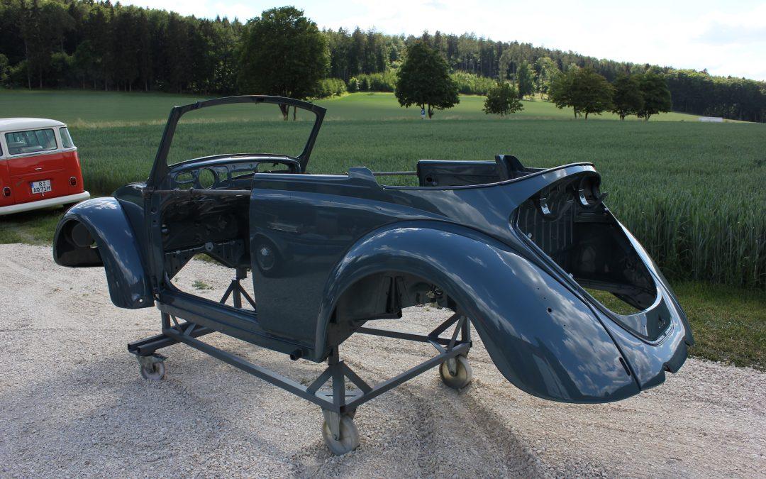 Restaurierung Käfer Cabriolet von 1967