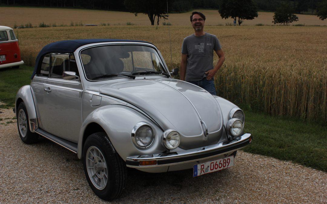 Auslieferung Käfer Cabrio