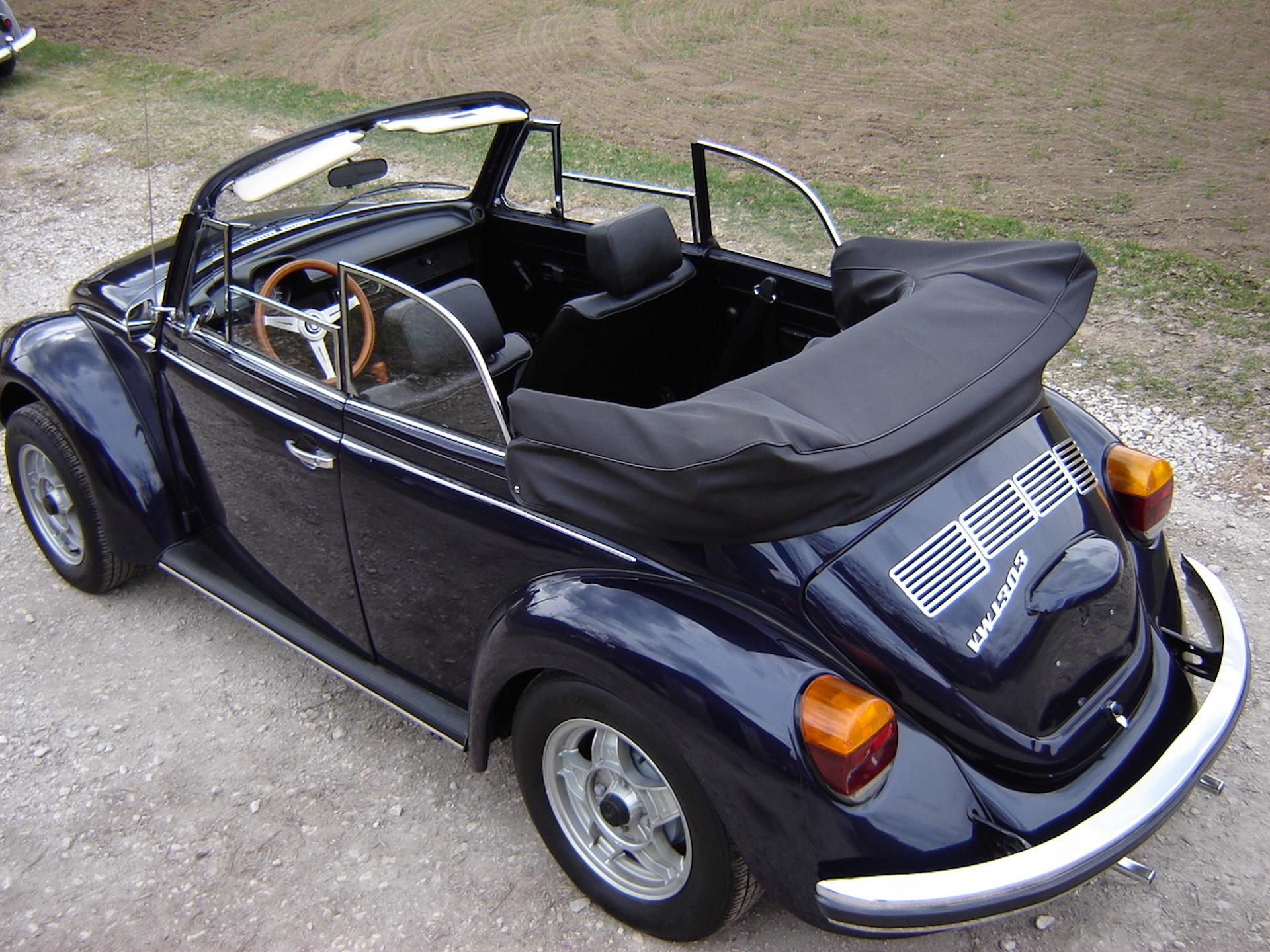 vw käfer cabriolet modell 1303 ls classicblau