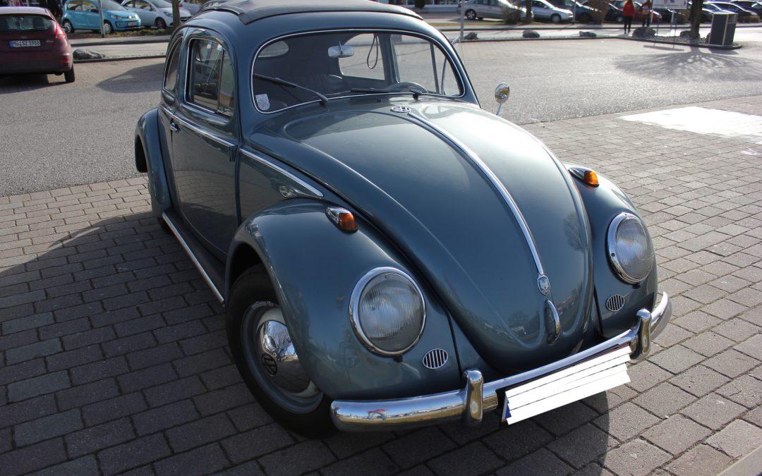 Neuzugang VW Käfer Ovali / Faltdach